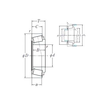 EE280702/281200 NSK Cylindrical Roller Bearings
