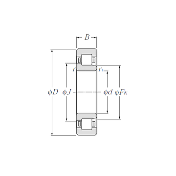 NJ321 NTN Cylindrical Roller Bearings