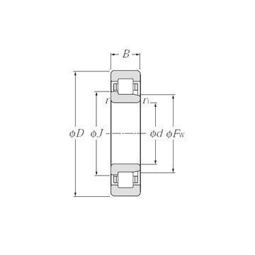 NJ2209 NTN Cylindrical Roller Bearings