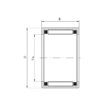 HK455520 ISO Cylindrical Roller Bearings