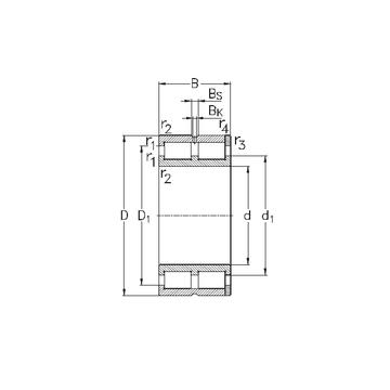NNC4936-V NKE Cylindrical Roller Bearings