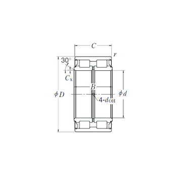 RS-5014 NSK Cylindrical Roller Bearings