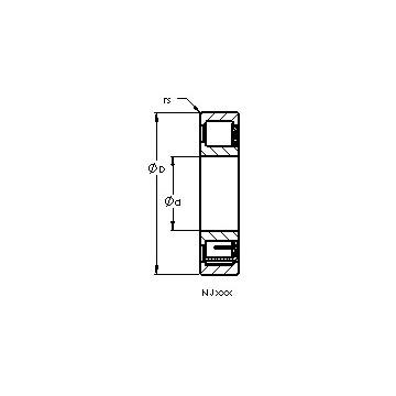 NJ2214 EM AST Cylindrical Roller Bearings