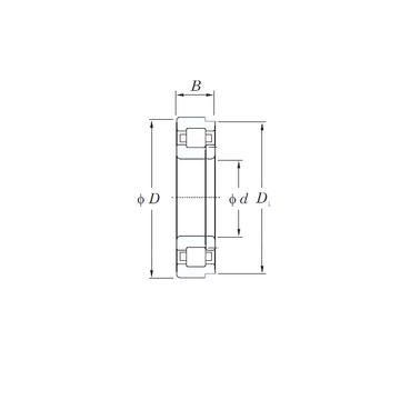NUP2338 KOYO Cylindrical Roller Bearings