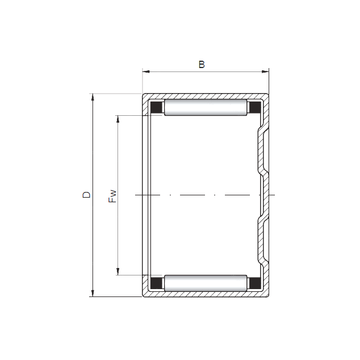BK283818 CX Cylindrical Roller Bearings #1 image