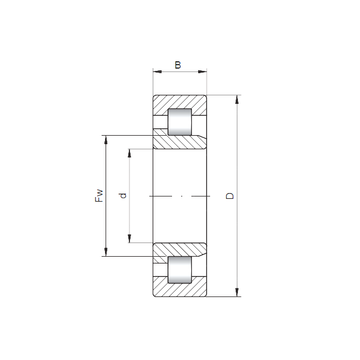 NJ3324 CX Cylindrical Roller Bearings #1 image